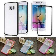 Shockproof TPU Ultra Thin Slim Clear Rubber Soft Case Cover For Samsun