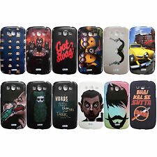 Printed Rubber Back Cover For Samsung Galaxy Grand Duos / Neo i9080 i9082 i9060