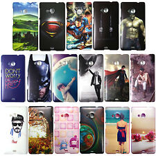 Printed Hard Back Cover For Nokia Microsoft Lumia 535 , N535 Case