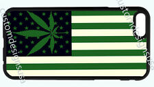 WEED MARIJUANA POT FLAG PHONE CASE COVER FOR IPHONE 7 6S 6 PLUS 5 5S 5