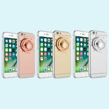 Fidget Toy Mirror Silicone Plated Case Cover For IPhone 6/6S Anti-Drop