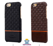 Kajsa Preppie - Braided Line Luxury Leather back Case Cover  for iPhone 6 / 6S