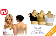 PACK OF 3 AIR BRA SEAMLESS NO STRAPS NO CLIPS COMFORTABLE FEELING AWESOME