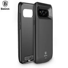 Baseus Slim Backup Battery Power Bank Charger Case Cover For Samsung S