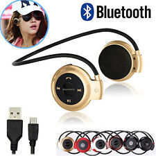 Bluetooth V2.1 Wireless Headset Sport Headphone Earphone For iPhone 7 Plus