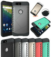 TOUGH SLIM ARMOR SHIELD TPU RUBBER SKIN CASE COVER FOR HUAWEI GOOGLE N