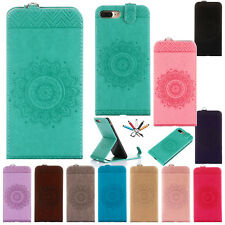 Flip Painted Magnetic Leather Wallet Card Stand Case Cover For iPhone