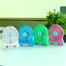Mini USB Rechargeable Handheld Adjustable Cooling Fan 3 Speed Modes F95B Gadget