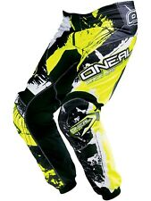 Pantalones MX niño ONeal 2017 Element Shocker Negro-Hi Viz
