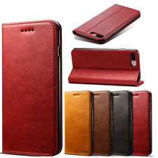 Magnetic Card Slot Wallet PU Leather Stand Case Cover For iPhone 7 7S