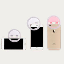 USB Selfie Fill Light Ring LED Clip Photography Photo For Mobile Phone Portable