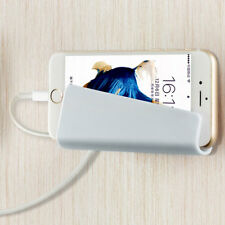 Phone Wall Charging Hanging Holder Stand Bracket Charge Hanger Rack Shelf