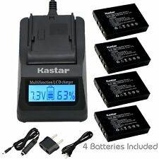 KLIC-5001 Battery & Fast Charger for Sanyo Xacti DMX-FH11 VPC-WH1 DMX-HD2000