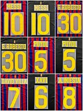 Barcelona 2011-12 Name Set number Sipesa Home Away Player Issue Messi