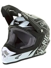 Casco MX ONeal 2018 3Series Fuel Negro-blanco