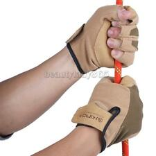 MagiDeal Half Finger Hunting Outdoor Cycling Climbing Sport Mitten Gloves