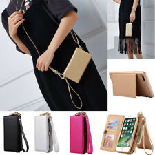 For iPhone 6S 7 Plus Genuine Leather Coke Wallet Purse Flip Women Case