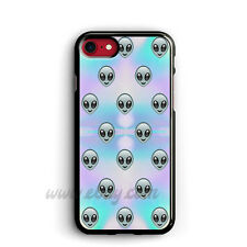 Alien Emoji Pastel iPhone Cases Alien Samsung Galaxy Phone Case Emoji