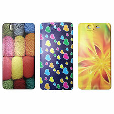 Printed Rubber Back Cover Case For Micromax Canvas Knight A350