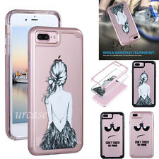 For Apple iPhone 7 6 6s Plus Case Shockproof Ultra Slim TPU Bumper Dra