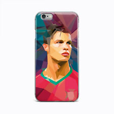 Ronaldo Art Ultra Thin Rubber Gel Silicone Case For Apple iPhone 4S 5