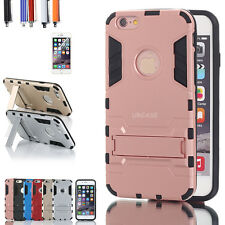 Iron Man Hybrid Shockproof Bumper Stand Case Cover Skin For iPhone 6/6