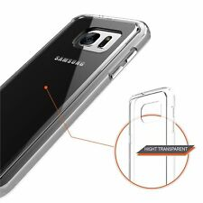 Crystal Clear Soft TPU Slim Transparent Case Cover For Samsung Galaxy