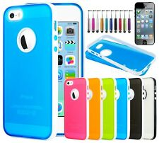 Colorful Heavy Duty Hybrid Rugged Hard Case Cover For iPhone 5 5S Styl
