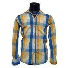 (Size-M-chest-38) Mens/Gents Wear Checkered Shirt For Casual Wear (SKU-JS89511)