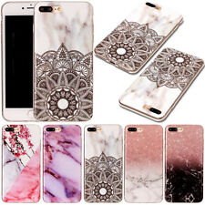 Painted TPU Case Ultra Slim Soft Rubber Protective Gel Cover For iPhon