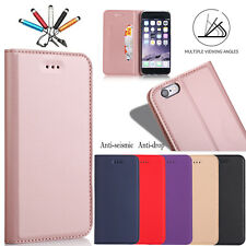 Magnetic Wallet Case Flip Stand Card Holder Leather Cover For iPhone 5