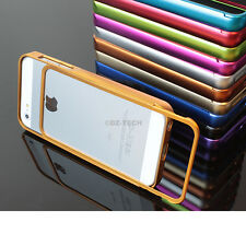 For Apple iPhone 5S Luxury Real Aluminum Metal Bumper Frame Case Acces
