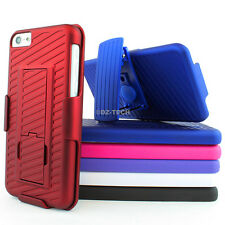 For Apple iPhone 5C Colorful GT Armor Hybrid Hard Case Cover Belt Clip