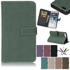 Luxury Magnetic 9-Card Wallet Leather Case Flip Stand Cover For iPhone