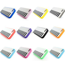 For iPhone 5S 5 Colorful Piano Keyboard Silicone Rubber Gel Soft Case