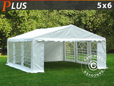 Dancover Tendone per Feste PLUS 5x6m PE/PVC, Gazebi Giardino Party