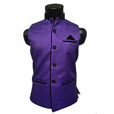 Mens Wear Nehru Jacket, Party wear, Jodhpuri Collar, Sleeveles ( SKU-JN91879 )