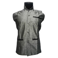 Mens Nehru Jacket ,Party Wear Jacket, Sleeveless Jacket ,Jodhpuri Collar Jacket