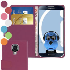 Book Wallet Case with Credit Card Money Holder For Samsung i9500 Galaxy S4 IV