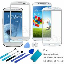 For Samsung Galaxy S3 4 5/Mini S6 Note2 Front Glass Lens Screen Replac