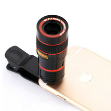 8X Optical Zoom HD Telescope Camera Lens Universal w/ Clip For Samsung