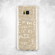 Simple Science Soft Silicone TPU Rubber Case Cover Samsung S6 S7 S8 Pl