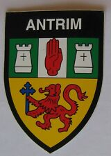 Stickers of Irish County Crests  3 1/2 by 2 1/2 Inch