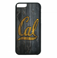 Cal Berkeley Bears Phone Case For iPhone 7 6S 6 PLUS 5 5S 4 4S Black T