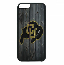 Colorado Buffaloes Phone Case For iPhone 7 6S 6 PLUS 5 5S 4 4S Black T