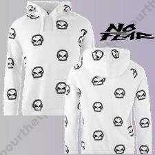 @TOP 2017@ SWEAT NO FEAR CAPUCHE SKULL HOODIE POUR HOMME XS A XL