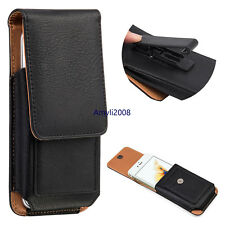 360° Belt Clip Loop Vertical Leather Holster Pouch Case For iPhone 7/