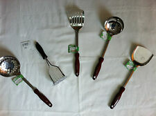 Stainless Steel Cooking Utensils Ladle Masher Spoon Turner & Spatula With Handle