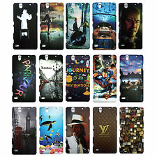Hard Back cover for Sony Xperia C4 , Printed Hard Cases For Sony C4  ----