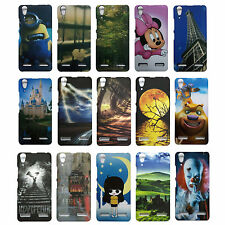 Designer Cover For Lenovo A6000 plus / A6000 , Hard Back Case For A6000 Plus ---